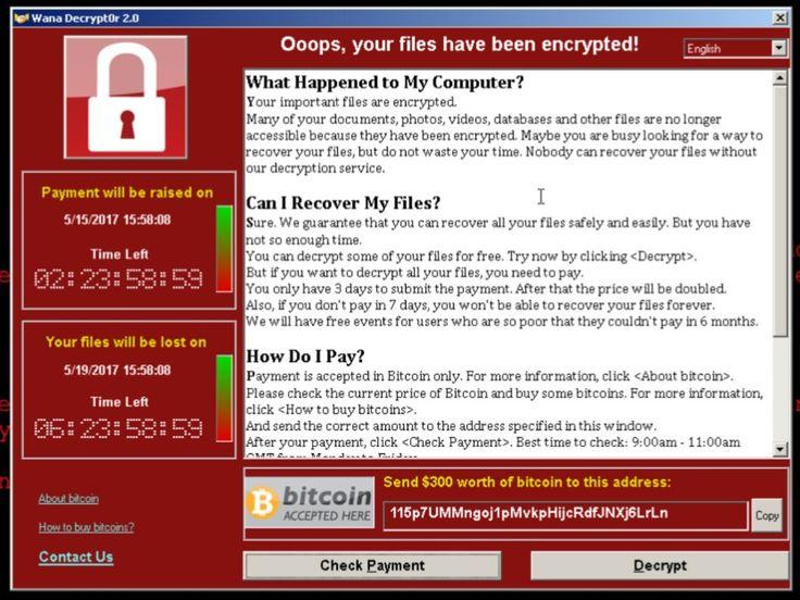 Cara mencegah serangan virus Wannacrypt Ransomware pada komputer Windows. Anti virus nya belum tersedia. Baca selengkapnya di sini