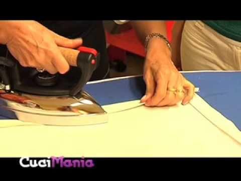 ▶ Cucimania #9 - Confezionare l'angolo della tovaglia - YouTube