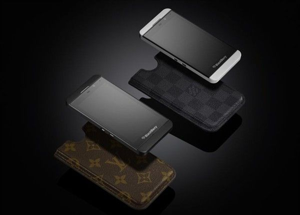 Louis Vuitton encases the Blackberry Z10