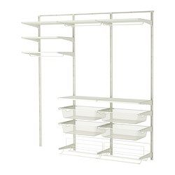 ALGOT Wall upright/rod/shoe organiser - IKEA
