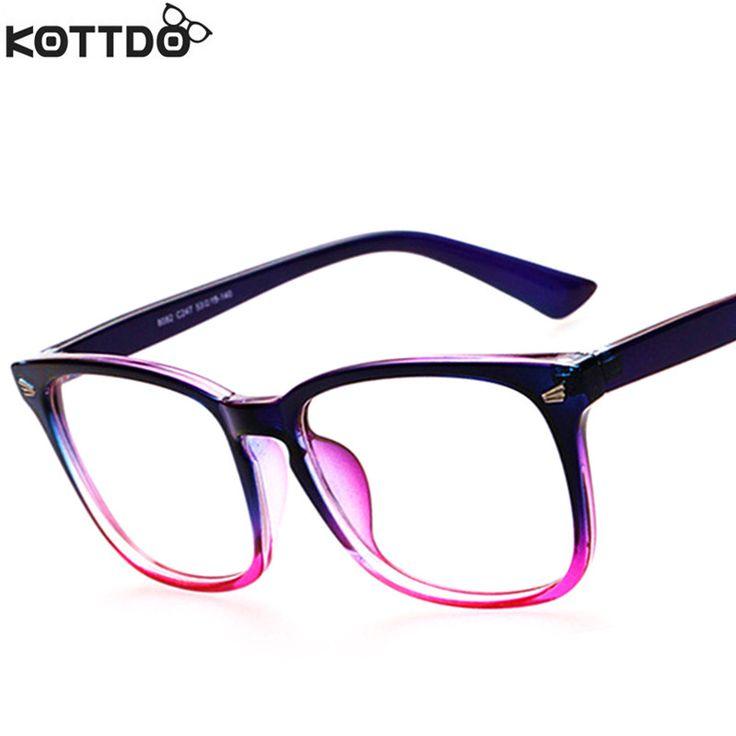 KOTTDO 2016 Mode Nouvelle Lecture Lunettes Hommes Femmes Marque Designer Lunettes Monture de lunettes Optique Ordinateur Lunettes Oculos