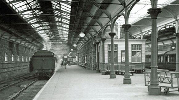 Dukes of Northumberland Old Victorian Railway Station ...