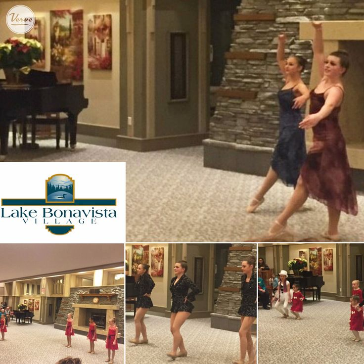 """Lake Bonavista Village was proud to have dancers from the Dynamic Dance Studio  perform for us. Aged 2 to 17, these talented boys and girls performed their Christmas Show called """"There's No Business Like Snow Business!"""" Thanks for coming, you were all amazing!"""