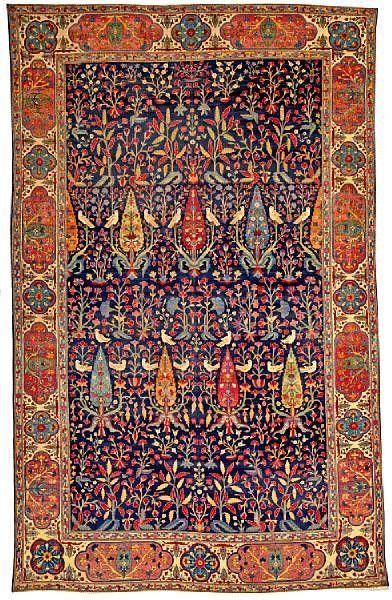 PersianLavar Kerman rug