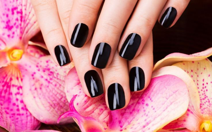 Wallpaper Black Nails (*čierne nechty)