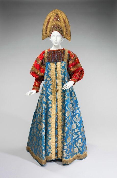 Россия, 19 в. Brooklyn Museum Costume Collection at the Metropolitan Museum of Art