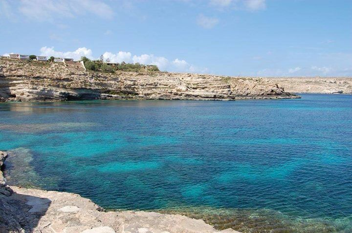 Cala Creta. Lampedusa