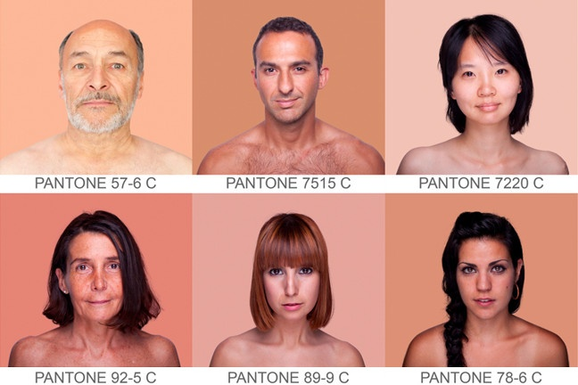 Find Your Perfect ShadePantone Colors, Colors Charts, Human Pantone, Skin Tone, Pantone Skin, Angelica Dass, Pantone Humano, Pantone Colours, Angélica Dass