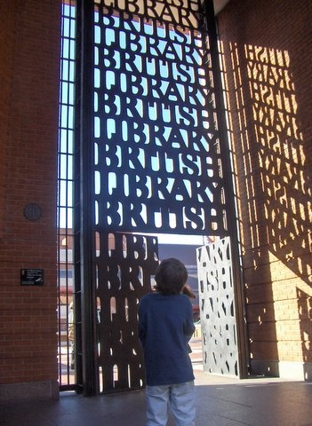 Then we're off to the British Library.  @visitlondon