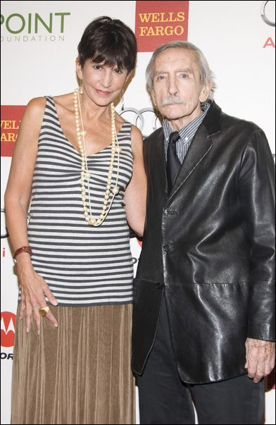mercedes ruehl face | Mercedes Ruehl and Edward Albee