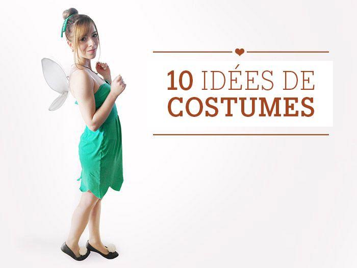 Si vous êtes à la recherche d'idées originales de #costumes, vous êtes ici au bon endroit ! Jetez donc un coup d'œil à nos 10 idées de #déguisements ! #DIYDaWanda