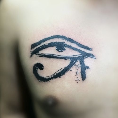 Eye of Horus done in Philippines by Jhay Colis #inked #tattoo...