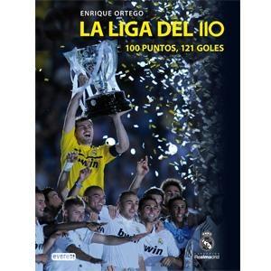 Libro La liga del 110: 100 puntos, 121 goles. Tienda oficial online Real Madrid CF para España.