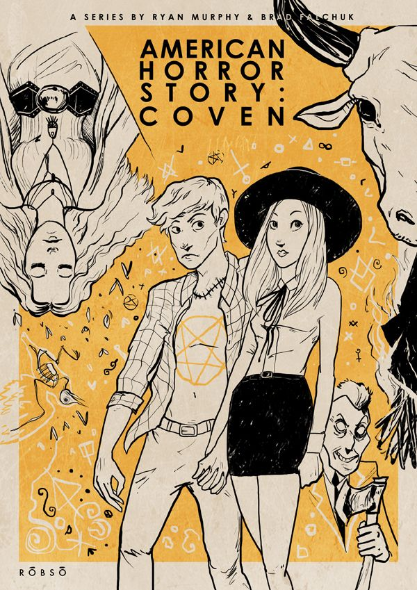 American Horror Story: Coven // By: Roberto Sánchez