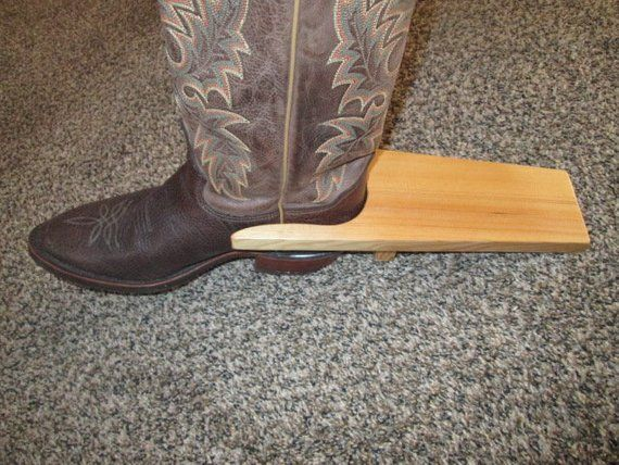 Perfect Gift Bootjack For Horse Friends Handmade Gift Boot Remover Walnut Handmade Boot Jack Accessory to remove Cowboy and Cowgirl boots