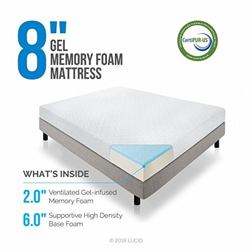 elegant but cheap memory foam mattress twin size 8 inches