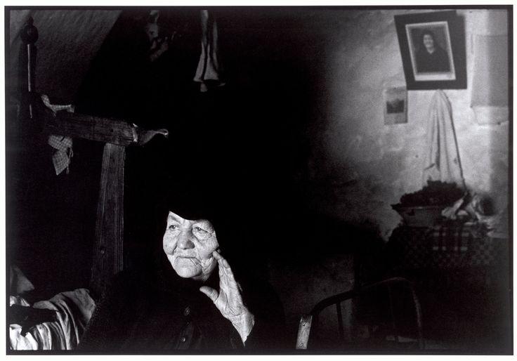 """Crete. 1964. Woman and her portrait. """"A Greek Portfolio"""" p.75 © Costa Manos/Magnum Photos"""