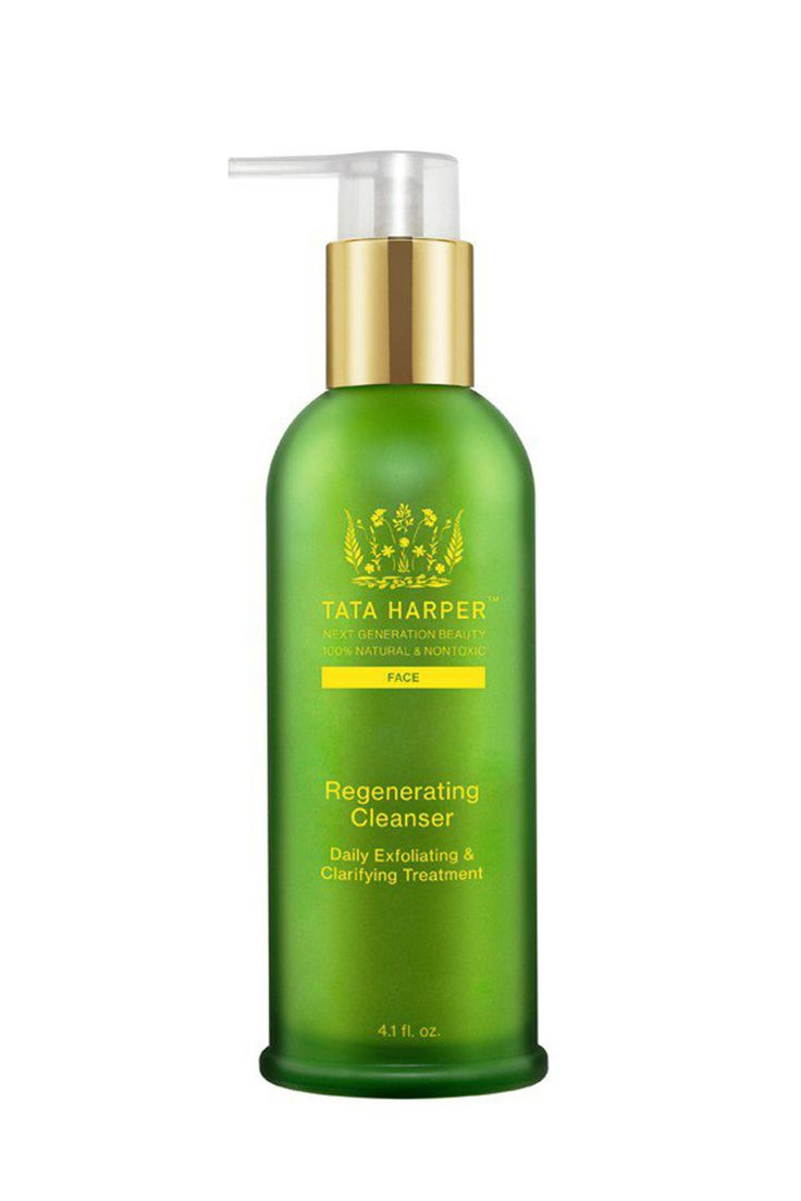 Now one of the most celebrated natural beauty brands, Tata Harper's first-class exfoliating cleanser is one of the best. It gently scrubs away impurities and clarifies with a mixture of oils and enzymes that prevent any further breakouts. Use for an extra glowing skin effect. Tata Harper Regenerating Cleanser, $78; sephora.com.