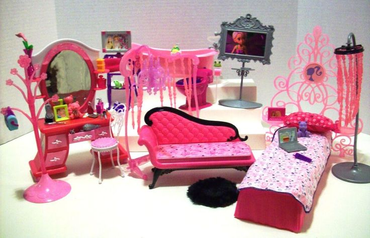 accessories furniture sets barbie forward barbie glam world furniture
