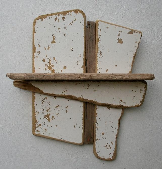 1000 ideas about driftwood shelf on pinterest driftwood for Driftwood wall shelves