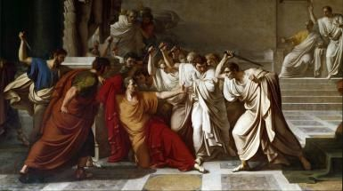 The death of Caesar, detail - Getty Images/Leemage/Hulton Fine Art Collection