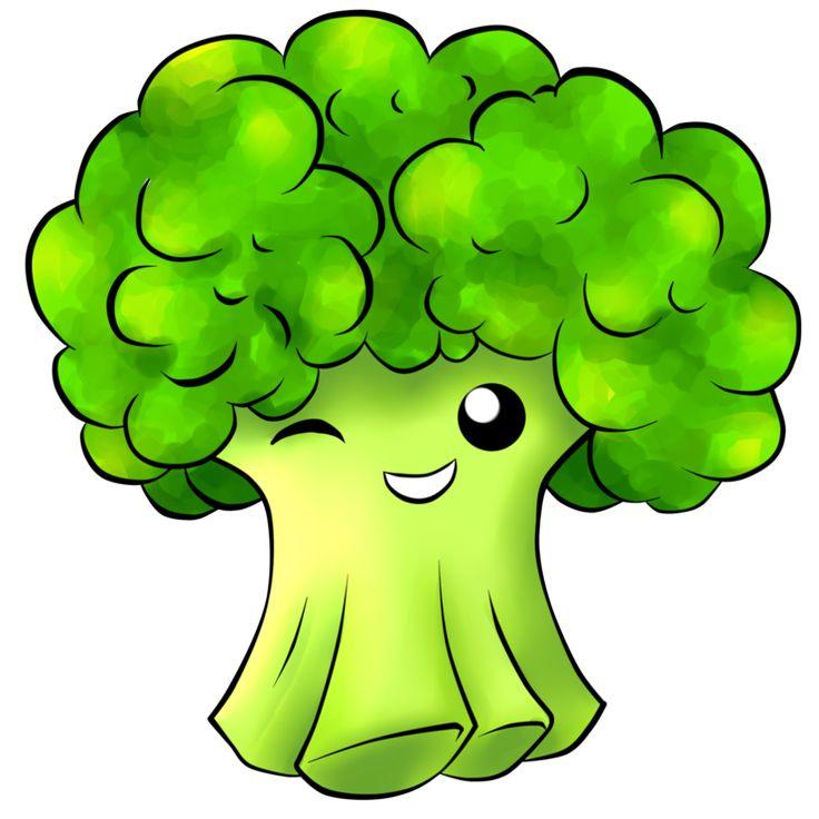 Lembar Kerja Menulis Huruf Sayuran Brokoli