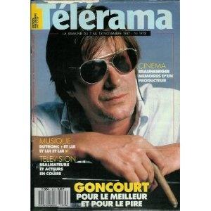 Télérama - n°1973 - 04/11/1987 - Jacques Dutronc : Et lui et lui et lui / Photo de Claude Gassian [magazine mis en vente par Presse-Mémoire]