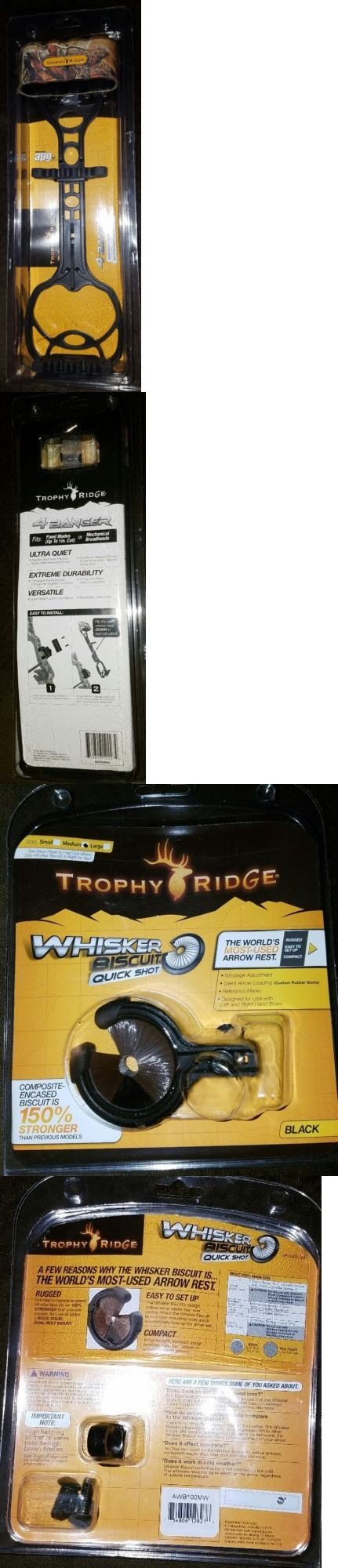 Archery Sets and Kits 161751: New Trophy Ridge Quiver And Whiskey Biscuit Set BUY IT NOW ONLY: $40.0