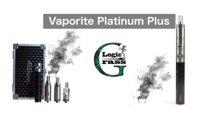 Vaporite Platinum Plus – The Iphone of Vaporizers - Pen Box and Accessories