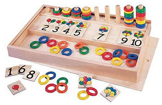 GoGo Balloons and Rings Numbers and Colours Game