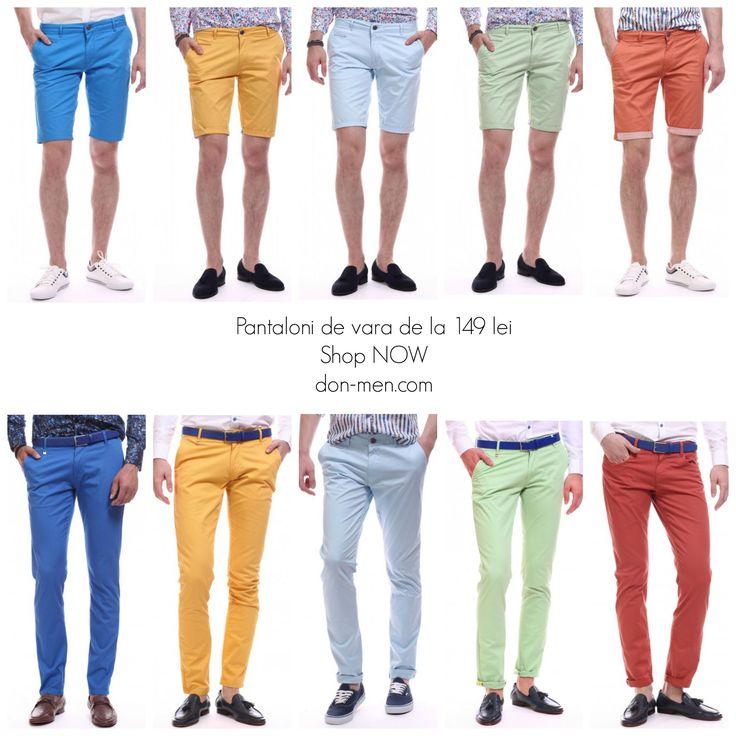 Shop NOW Pantaloni de vara, de la 149 lei don-men.com #affordable #prices #shop #online