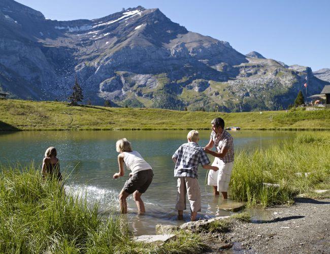 Lac Retaud aux Diablerets