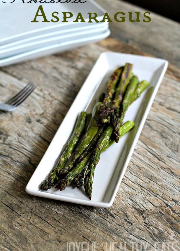 Roasted Asparagus -- seasoned with olive oil, salt & pepper, & Parmesan cheese. I liked it.