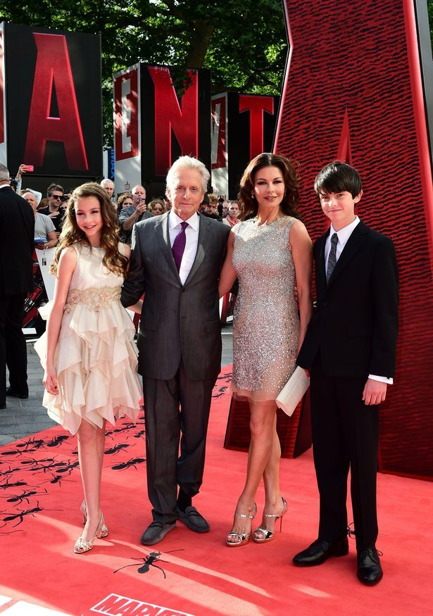 Spit of their mam! Catherine Zeta Jones looks exactly like her mini-mes Carys and Dylan at the same age