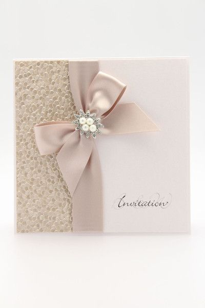 Pebble pocket fold invitation is a elegant embossed design crafted from luxury…