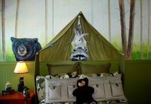Beauty  Camping Themed Kids room ideas