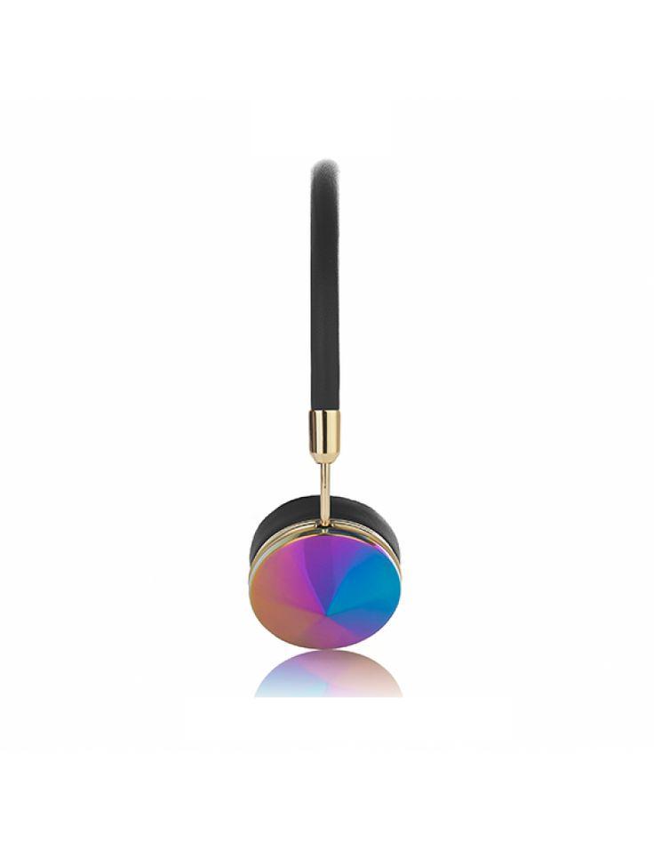Frends with Benefits Layla Headphones (Oil Slick) cap view