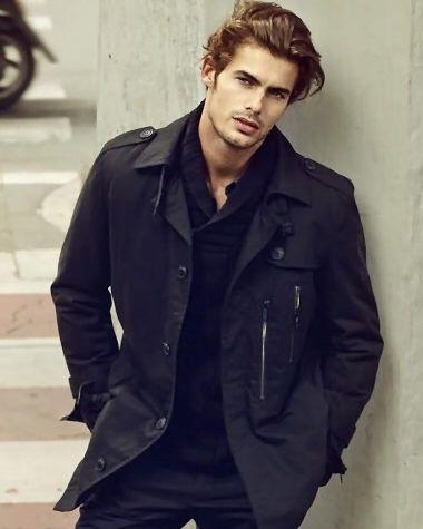 Jacey Elthalion, male model