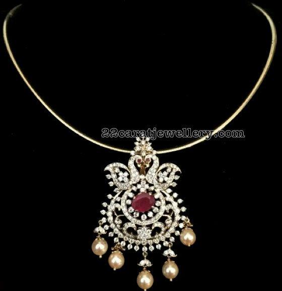 21 Grams Diamond Locket - Jewellery Designs
