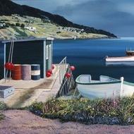 Newfoundland Artist Ed Roche