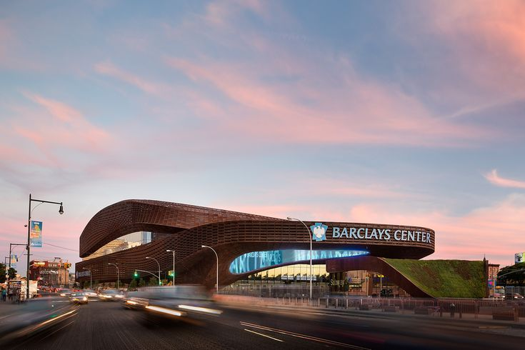 Barclays Center   SHoP Architects; Architect of Record: Ellerbe Beckett/AECOM   Archinect