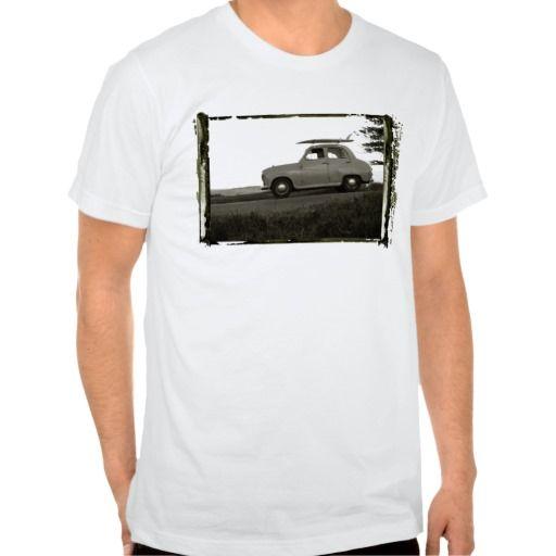 Surf Check Retro Vintage Surf Shirt