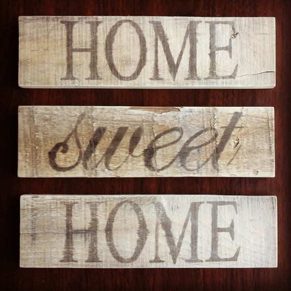 Homes, Sweets  Ideas, rustic Signs, Home home Rustic Rustic sign Signs, Home, Decor