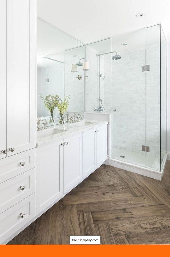 White Cabinets With Gray Subway Tile Backsplash And Pics Of White