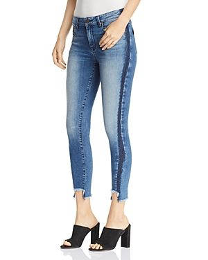09ff3fee94f7d9 PARKER SMITH TWISTED SEAM CROPPED SKINNY JEANS IN OCEAN SIDE. #parkersmith  #cloth #