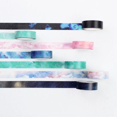 Galaxy Masking Tape 7-pack