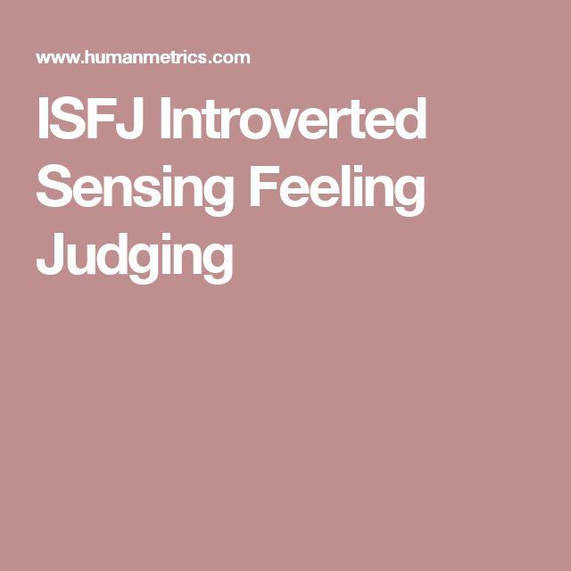 ISFJ Introverted Sensing Feeling Judging