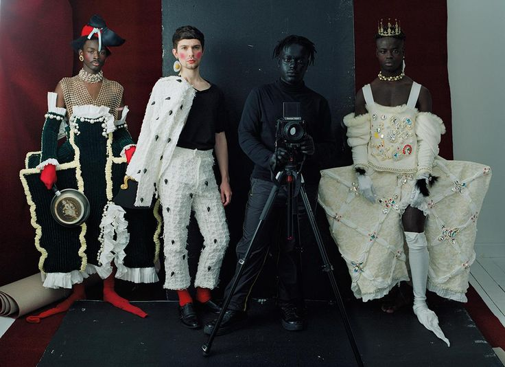 campbell, ibrahim, king and harry: the next generation in london creativity | read | i-D