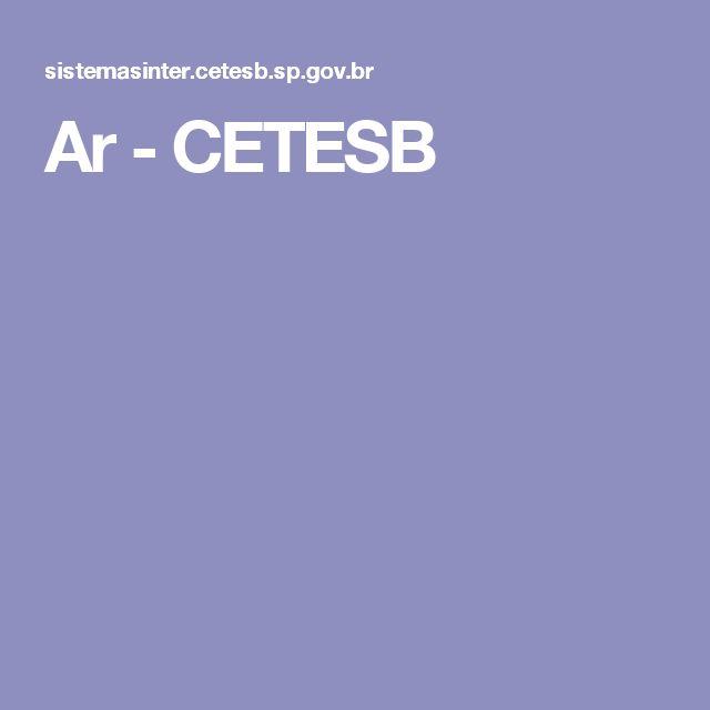 Ar - CETESB