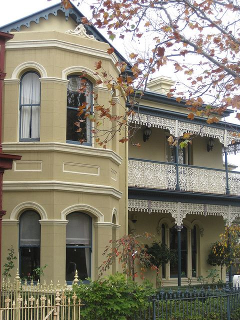 A Victorian Terrace House - Flemington by raaen99, via Flickr
